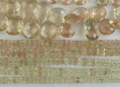 Faceted Beads Plush Sunstone